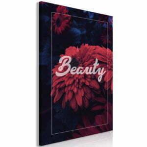 Wandbild - Beauty (1 Part) Vertical