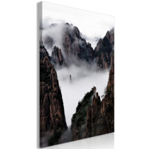 Wandbild - Fog Over Huang Shan (1 Part) Vertical