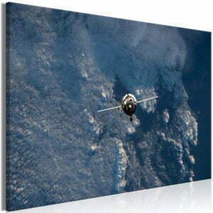 Wandbild - Blue Planet (1 Part) Vertical