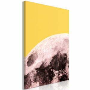 Wandbild - Sunny Moon (1 Part) Vertical
