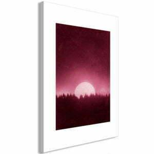 Wandbild - Full Moon (1 Part) Vertical
