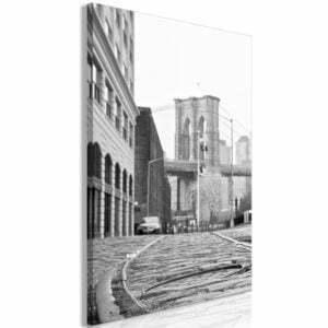 Wandbild - Brooklyn Bridge (1 Part) Vertical