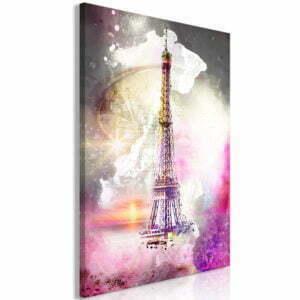 Wandbild - Fairytale Paris (1 Part) Vertical