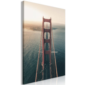 Wandbild - Golden Gate Bridge (1 Part) Vertical