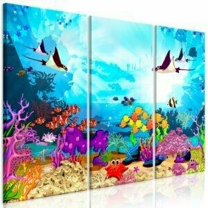 Wandbild - Underwater Fun (3 Parts)