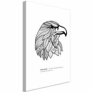 Wandbild - Eagle of Freedom (1 Part) Vertical