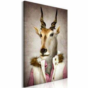 Wandbild - Antelope Jessica (1 Part) Vertical