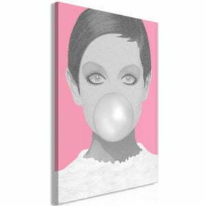 Wandbild - Bubble Gum (1 Part) Vertical