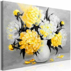 Wandbild - Fragrant Colours (1 Part) Wide Yellow