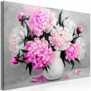 Wandbild - Fragrant Colours (1 Part) Wide Pink