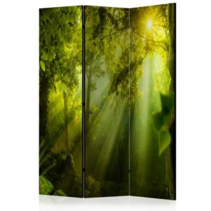 3-teiliges Paravent -  In a Secret Forest II [Room Dividers]