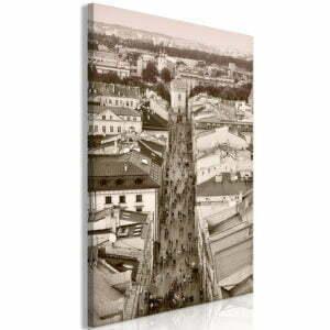 Wandbild - Cracow: Florianska Street (1 Part) Vertical